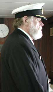 Lowell Lytle as Captain Smith of Titanic